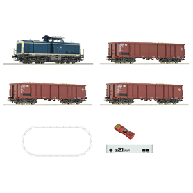Digital z21® start Set: Diesel locomotive class 211 with freight train, DB