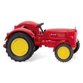 Wiking 88403 Traktor MAN 4R3 - traffic red