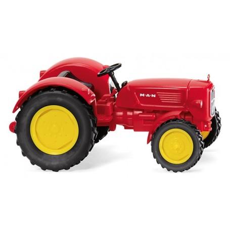 Wiking 88403 Traktor MAN 4R3 - traffic red