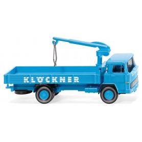 Wiking 42301 Flatbed lorry (Magirus 100 D7) 'Klöckner'