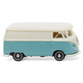 Wiking 93201 VW T1 box van pastel turquoise | cremewhite