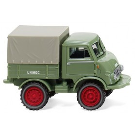 Wiking 36802 Unimog U 401- light green