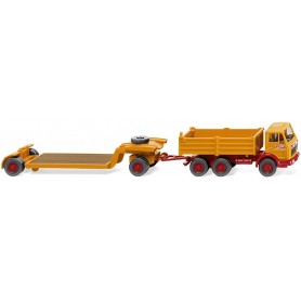 Wiking 49201 Low-loader trailer (MB NG) 'Bölling'