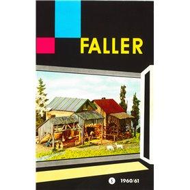Faller katalog 1960/61, på svenska, 53 sidor i färg, begagnat skick