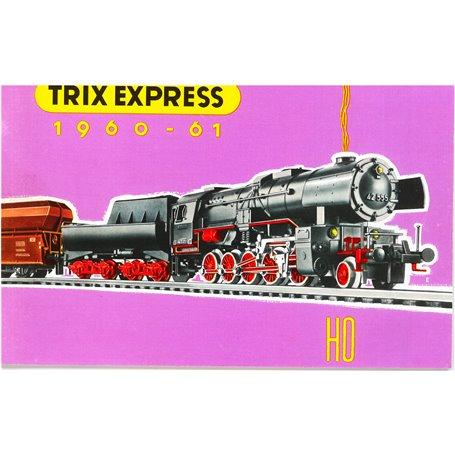 Media KAT450 Trix Express Katalog 1960/61 på Svenska, 48 sidor i färg, begagnat skick