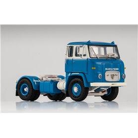 Scania LB 7635, ljusblå/vit