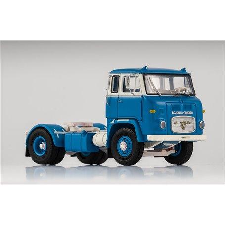 VK Modelle 76012 Scania LB 7635, ljusblå/vit