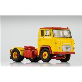 Scania LB 7635, gul/röd