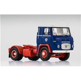 Scania LB 7635, blå/röd