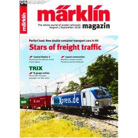 Märklin 298122 Märklin Magazin 4/2018 Engelska