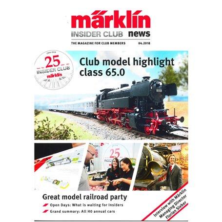 Märklin INS42018 Märklin Insider 04/2018