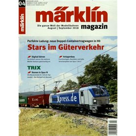 Märklin 298121 Märklin Magazin 4/2018 Tyska