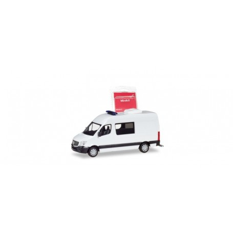Herpa 013543 Herpa MiniKit. Mercedes-Benz Sprinter semi-bus, white