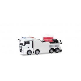 Herpa 013574 Herpa MiniKit. MAN TGX XLX Euro 6c Empl wrecker, white
