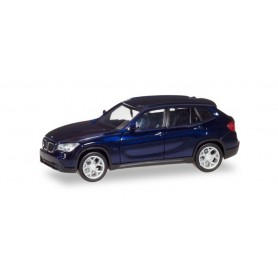 Herpa 034340-004 BMW X1, estoril blue metallic
