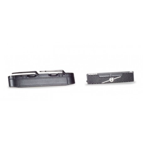 Herpa 053921 Accessories Panels Volvo without Logo, grill with logo, black Content. (4 pieces)