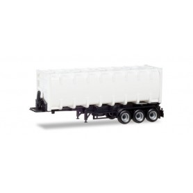 Herpa 076234-002 30ft. container trailer, Chassis black