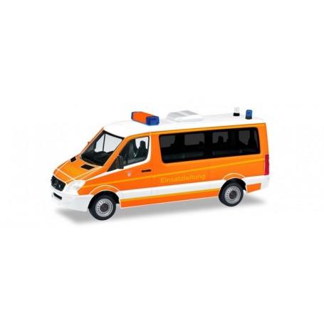Herpa 093898 Mercedes-Benz sprinter command vehicle 'Ingolstadt fire department'