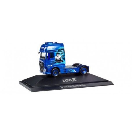 Herpa 110952 DAF XF SSC rigid tractor ?Log-X   The Boxer? (CZ)