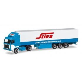 Herpa 309455 Scania 143 refrigerated box semitrailer 'Sties' (N)