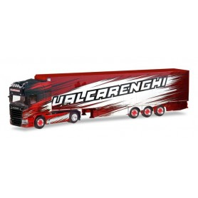 "Herpa 309493 Scania R TL refrigerated box semitrailer ""Bruno Valcarenghi"" (I)"