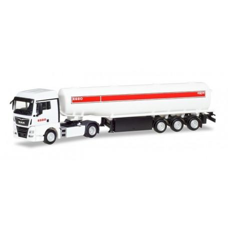 Herpa 309509 MAN TGX XLX fuel tank semitrailer ?ESSO?