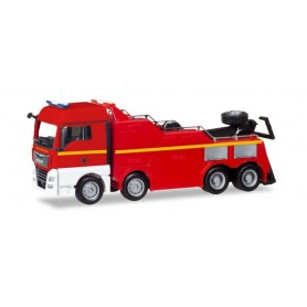 "Herpa 309608 MAN TGX XLX Euro 6c Empl wrecker ""Fire department"""