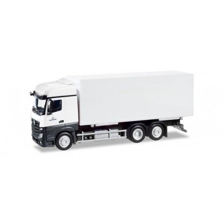 Herpa 746465 Mercedes-Benz Actros interchangable truck with container ?Bundeswehr?