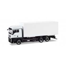 "Herpa 746472 MAN TGX XLX Euro 6c interchangable truck with Container ""Bundeswehr"""