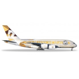 Herpa 531948 Flygplan Etihad Airways Airbus A380 'Year of Zayed'