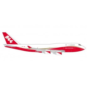 Herpa 531955 Flygplan Global Supertanker Services Boeing 747-400 Supertanker