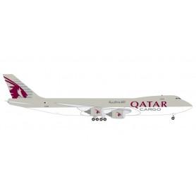 Herpa 531993 Flygplan Qatar Airways Cargo Boeing 747-8F