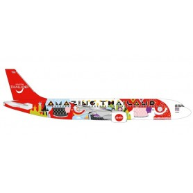 Herpa Wings 532686 Flygplan Thai Air Asia Airbus A320 'Amazing Thailand'