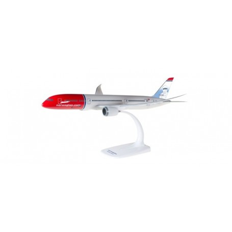 Herpa 611503-001 Flygplan Norwegian Boeing 787-9 Dreamliner