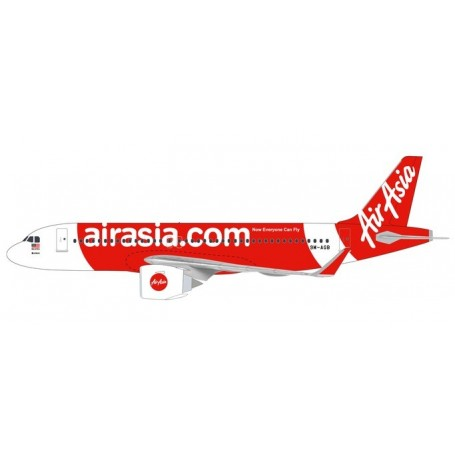 Herpa 612081 Flygplan Air Asia Airbus A320neo
