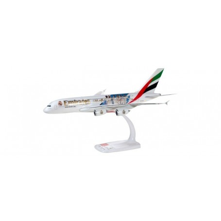 Herpa 612142 Flygplan Emirates Airbus A380 'Real Madrid (2018)'