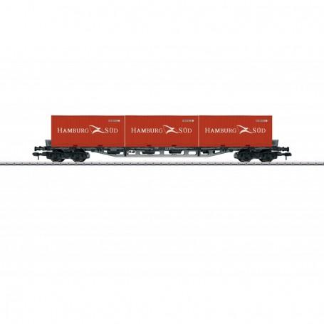 Märklin 58709 Containervagn Sgjs 716 typ DB 'Hamburg Süd'