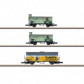 Märklin 86603 Vagnsset med 3 ölvagnar 'Staufen-Bräu'