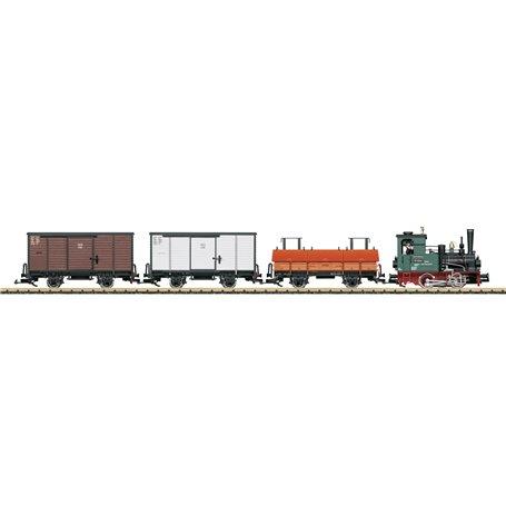 """LGB 29050 Tågset """"LGB Factory Train"""""""