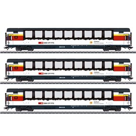 Märklin 43650 Vagnsset 'Gotthard Panorama Express' typ SBB