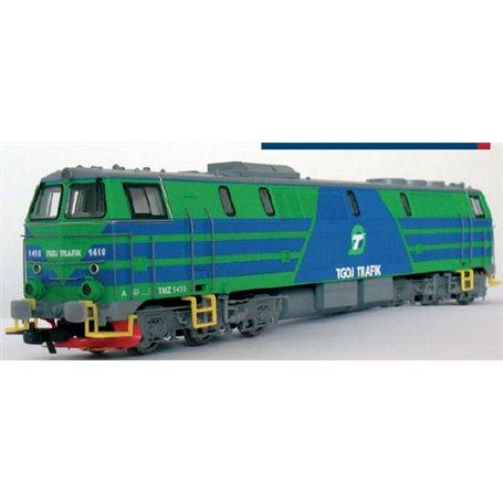 Hobby Trade 161410.1 Diesellok TMZ 1410 TGOJ Grön/Blå med digitaldekoder