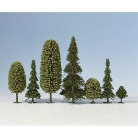 Noch 26411 Mixad skog, 10 st, höjd ca 90-150 mm