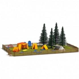 Busch 9776 Campingplats med tillbehör