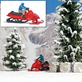 Busch 7818 Snöskoter med förare