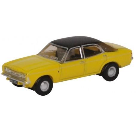 Oxford Models 120037 Cortina MkIII Daytona Yellow