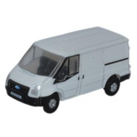 Oxford Models 120105 Ford Transit SWB Low Roof White
