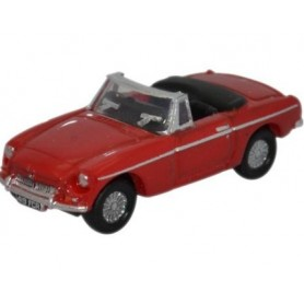 Oxford Models 120211 MGB Roadster, röd