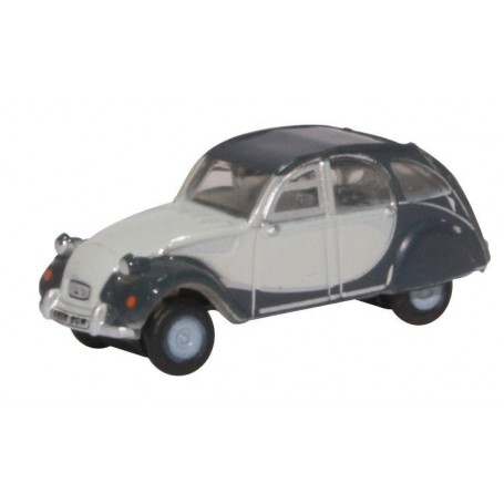 Oxford Models 124394 Citröen 2CV Charleston Two Tone Grey