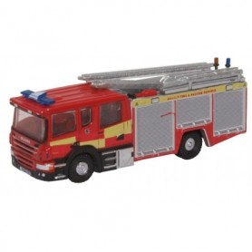 Oxford Models 120396 Brandbil Scania Pump Ladder Surrey F& R