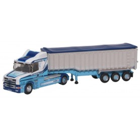 Oxford Models 124660 Bil & Trailer Scania T Cab 'Tipper Tinnelly'